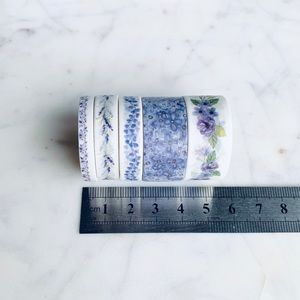 Accessories - Set of 5 Washi Tapes, Planner Tapes NEW!
